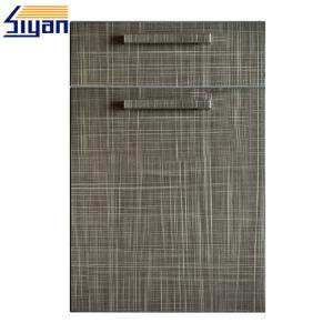 China European Standard Kitchen Door And Drawer Front Replacement Flat Design on sale