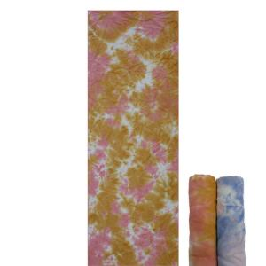 China Portable Tie Dye Yoga Towel , Premium Microfiber Towel With Bag on sale
