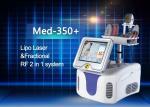 O laser Handpiece e tratamento fracionário Handpiece RF de Lipo do RF põe o poder avaliado 50w 200w
