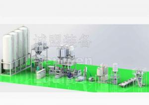 China CaCO3 High Filler Stone Paper Production Line Masterbatch Production Line on sale