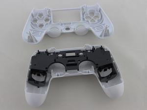 China Replacement Complete Housing Shell Case for PS4 Dualshock 4 Controller - Glossy White on sale