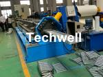 Galvanized Steel Cable Tray Roll Forming Machine With 18 Stations Forming Roller Stand