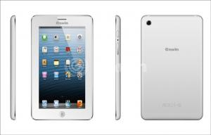 China White 7 Inch Android Tablet PC with Double Speakers and DUAL SIM on sale