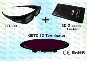 China 3D Cybercafé Solution with 3D IR emitter and shutter glasses  on sale