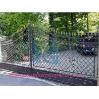wrought iron main gate,Forged Steel Gate for Your Home,Fer Forge Gate