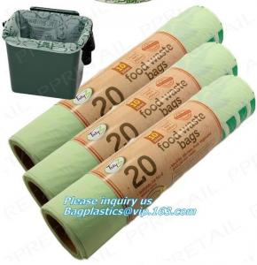 China 100% compostable plastic fruit bags,PLA bag of fruit, cornstarch biodegradable and compostable plastic roll bag,McDonald on sale
