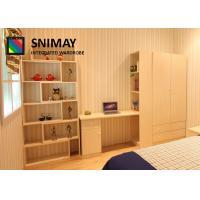 China Adjustable Headboard Children Bedroom Furniture Sets Combined Bookshelf on sale