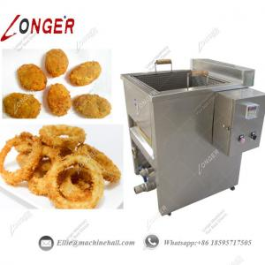 China Onion Ring Frying Machine Industrial Frying Machine Automatic Onion Ring Frying Machine Frying Machine Price Onion Fry on sale