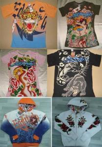 China sell ed hardy cloth on sale