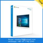 Software Windows 10 Pro Retail Box Package Version PKC Product Key Card