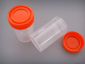 China PP Plastic Disposable Urine Sample Container , Urine Specimen Containers For Collection on sale