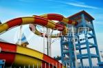 China Platform Height 13m Fiberglass Water Slide 2 Person for Outdoor / Indoor Water Park wholesale