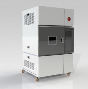 China PID Environmental Testing Chamber , Xenon Arc Aging Test Chamber Temperature Control ANSI Z97.1-2009 on sale