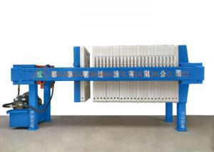 China Semi-Automatic Hydraulic Pressure Filter Press for Chemical Industry on sale