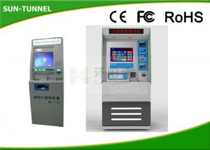 China High IP Rated Touch Screen Information Kiosk Billing Bill Payment Function on sale