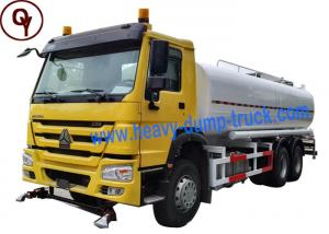 China China Heavy Duty Sprayer Water Truck 6x4 Drive Type with 20000 Liter Water Tank on sale