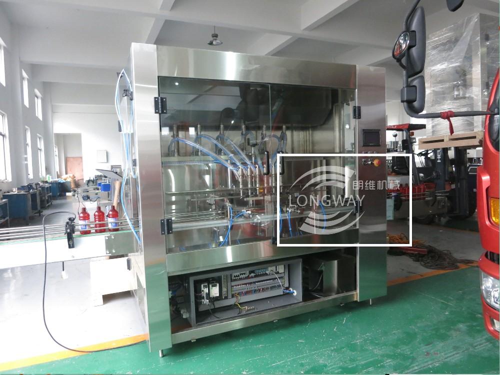 100% Factory Sale 1-5L pesticide filling machine