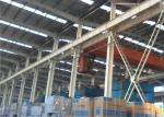 ISO 9001 Steel Warehouse Structure / Metal Warehouse Buildings Hot-Dip Galvanized