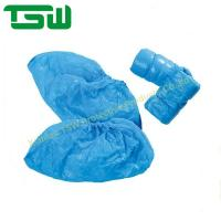 China Water Resistant Nonwoven 7g Disposable Plastic Shoe Covers on sale