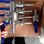 100mm Extension End Ball Valve (6000PSI)