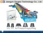 Galvanized Steel Roller Shutter Spring Door Roll Forming Machine 5.5 KW Driving Motor Siemens PLC Control System