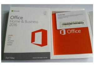 China Mlulti Editions Microsoft Office Retail Box For 1 MAC Online Activation on sale