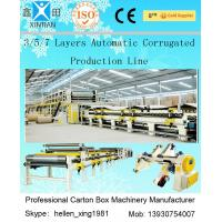 China 100 M / Min A B Flute Corrugated Box Machinery Corrugated Carton Making Machine on sale