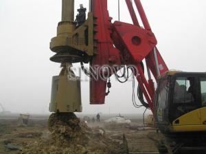 China rotary drilling rigs Track shoe width 700mm rated power 110kv on sale