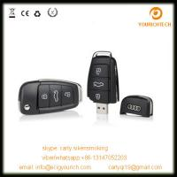 Audi car key usb flash drive, car key shape usb flash drive, usb flash drive key