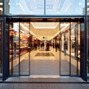 China Anodizing 1.3mm Aluminum Frame Sliding Glass Doors on sale
