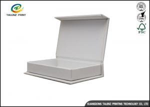 China Custom Cardboard Paper Magnetic Gift Box Gloss Aqueous Varnishing on sale