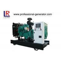 Reliable Capability 50Hz / 60 Hz Open Diesel Generator Set Power 16KW~220KW