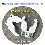 White HSK63F Tool Grippers CNC Tool Forks HSK Tool Clips for CNC Machine
