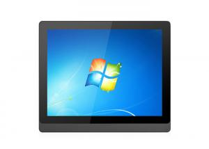 China CNC Control Automation 15 Inch Free Bezel Industrial Resistive Touchscreen Monitor on sale