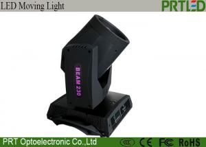 China 7R 230W LED Stage Lights 8000K CCT Follow Spot Sharpy Moving Head Light on sale