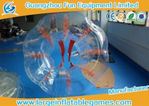 China 1.8m Adults Grass Field Inflatable Bubble Ball Bubble Human Ball Heat Sealed on sale