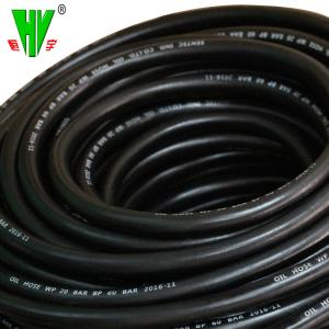 China Professional hydraulic hose distributor rubber oil resistant gasoline hose on sale
