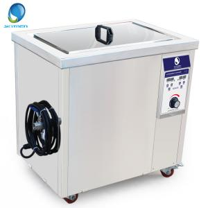 China Large Industrial Ultrasonic Auto Parts Cleaner With Large Capacity , Low Noise on sale