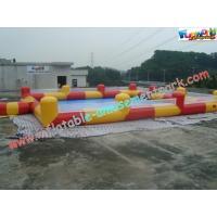PVC Tarpaulin Inflatable Water Pools , Water Ball Pool Water-Proof
