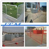 China Barrière provisoire {de haute qualité} de piscine, panneaux provisoires de barrière en métal, support provisoire de barrière on sale