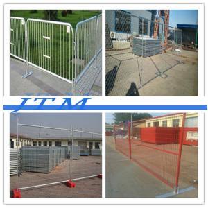 China Cerca provisória {de alta qualidade} da associação, painéis provisórios da cerca do metal, suporte provisório da cerca on sale