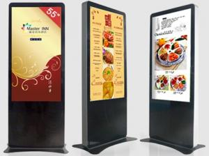 China Free Standing Interactive Information Kiosk / Shopping Mall Kiosk Touchscreen on sale