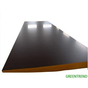 China 18mm cheap finger joint board formwork film faced plywood on sale