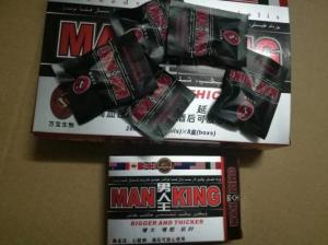 China Man King Herbal Male Enhancement Pills Bigger And Thicker Sex Products on sale