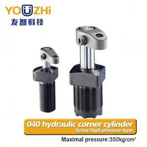 China China youzhi 040 high pressure hydraulic cylinder single action with screw corner on sale
