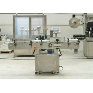 China Industrial Packaging Line EquipmentLabel Sticking MachineFor Bottles / Cans on sale