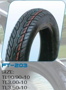 China Motorcycle Tyre (TF-203A 3.00-10,3.50-10) on sale