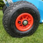 малые колеса металла