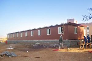 China Fireproofing Prefab House Kits Houses with Moistureproof Layer prefabricated building on sale