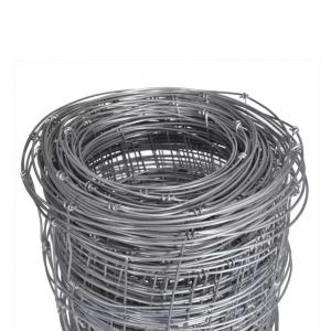 China 164 ft Galvanized Iron Wire Mesh Fence Field Wild Animal Garden Fencing Roll on sale